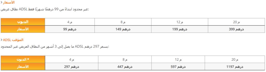 اتصالات المغرب ويفي